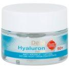 Delia Cosmetics Hyaluron Fusion 50+ creme antirrugas refirmante  50 ml