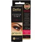 Delia Cosmetics Pro Color professionelle Gel-Creme für die Augenbrauen ohne Ammoniak Farbton 1.0 Black 15 ml
