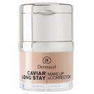 Dermacol Caviar Long Stay hosszantartó make-up és korrektor kaviár kivonattal árnyalat 1 Pale (Make-up & Corrector) 30 ml