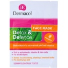 Dermacol Detox & Defence Detoxifying And Protective Face Mask For All Types Of Skin (Face Mask) 2x8 g