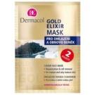 Dermacol Gold Elixir masca pentru fata cu caviar (Caviar Face Mask) 2x8 g