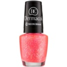Dermacol Neon Neon Glow Nail Polish Color 19 Bikini 5 ml
