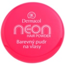 Dermacol Neon barevný pudr na vlasy Pink with Glitters 2,2 g