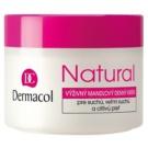 Dermacol Natural eine reichhaltige Tagescreme für trockene bis sehr trockene Haut (Nourishing Almond Day Cream) 50 ml