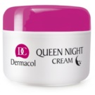 Dermacol Dry Skin Program Queen Night Cream ingrijire de noapte pentru fermitate uscata si foarte uscata (Intensive Night Care for Dry and Very Dry Skin) 50 ml