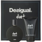 Desigual Dark coffret I. Eau de Parfum 100 ml + bálsamo after shave 100 ml