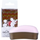Dessata Original Mini escova de cabelo Pink - Old Gold