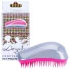 Dessata Original Hair Brush Silver - Fuchsia