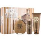 Diesel Fuel for Life Homme Geschenkset II. Eau de Toilette 75 ml + Duschgel 100 ml + Duschgel 50 ml