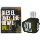 Diesel Only The Brave Wild Eau de Toilette para homens 75 ml