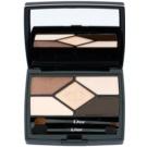Dior 5 Couleurs Designer палитра с професионални сенки за очи цвят 708 Amber Design 5,7 гр.