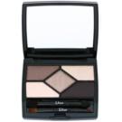 Dior 5 Couleurs Designer professzionális szemhéjfesték paletta árnyalat 718 Taupe Design 5,7 g