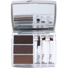 Dior All In Brow 3D Set For Perfect Eyebrows Color 001 Brown (Long-Wear Brow Contour Kit) 7,5 g