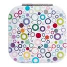 Diva & Nice Cosmetics Accessories négyzet alakú kozmetikai tükör Star-Rings (6,8 x 6,8 cm)