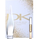 DKNY Liquid Cashmere White подарунковий набір ІІ EDP White + Roll-On Black and White Парфумована вода 100 ml + roll-on 10 ml