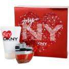 DKNY My NY zestaw upominkowy I. woda perfumowana 50 ml + mleczko do ciała 100 ml