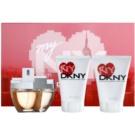 DKNY My NY zestaw upominkowy II. woda perfumowana 100 ml + mleczko do ciała 100 ml + żel pod prysznic 100 ml