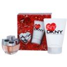 DKNY My NY darilni set III. parfumska voda 30 ml + losjon za telo 100 ml