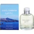 Dolce & Gabbana Light Blue Discover Vulcano Pour Homme Eau de Toilette für Herren 125 ml