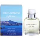 Dolce & Gabbana Light Blue Discover Vulcano Pour Homme Eau de Toilette für Herren 75 ml