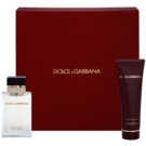 Dolce & Gabbana Pour Femme Travel Edition ajándékszett I. Eau de Parfum 25 ml + testápoló tej 50 ml