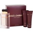Dolce & Gabbana Pour Femme Travel Edition set cadou II. Eau de Parfum 100 ml + Gel de dus 50 ml + Lotiune de corp 50 ml