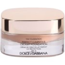 Dolce & Gabbana The Foundation Perfect Luminous Creamy Foundation base veludosa para pele radiante tom No. 144 Bronze SPF 15 (Perfect Luminous Creamy Foundation) 30 ml