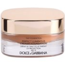 Dolce & Gabbana The Foundation Perfect Luminous Creamy Foundation Silky Make- Up For Face Illuminating Color No. 170 Golden Honey SPF 15 (Perfect Luminous Creamy Foundation) 30 ml
