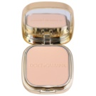 Dolce & Gabbana The Foundation Perfect Matte Powder Foundation pudra make up mata cu oglinda si aplicator culoare No. 60 Classic  15 g