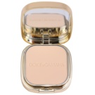 Dolce & Gabbana The Foundation Perfect Matte Powder Foundation maquillaje en polvo matificante  con espejo y aplicador tono No. 70 Natural  15 g