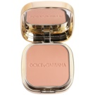 Dolce & Gabbana The Foundation Perfect Matte Powder Foundation maquillaje en polvo matificante  con espejo y aplicador tono No. 130 Honey  15 g