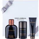 Dolce & Gabbana Pour Homme Intenso Gift Set III. Eau De Parfum 125 ml + Deodorant Stick 75 ml + Shower Gel 50 ml