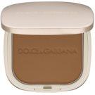 Dolce & Gabbana The Powder kompakt púder ecsettel árnyalat 6 Biscuit 15 g