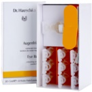 Dr. Hauschka Eye And Lip Care osvežilni obkladki za utrujene oči (10 x Solution + 10 x Cosmetic Pads) 10 x 5 ml