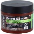 Dr. Santé Macadamia masca sub forma de crema pentru par deteriorat (Macademia Oil and Keratin, Reconstruction and Protection) 300 ml