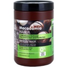 Dr. Santé Macadamia masca sub forma de crema pentru par deteriorat (Macademia Oil and Keratin, Reconstruction and Protection) 1000 ml