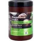Dr. Santé Macadamia máscara cremosa para cabelo enfraquecido (Macademia Oil and Keratin, Reconstruction and Protection) 1000 ml