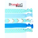 Dtangler DTG Band Set elastike za lase 5 ks (Blue)