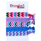 Dtangler DTG Band Set gomas para cabello 5 uds (Stripes)
