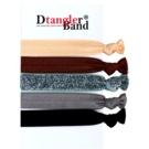 Dtangler DTG Band Set elásticos para cabelo 5 pçs (Dark) 5 un.