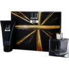 Dunhill Black set cadou Apa de Toaleta 100 ml + After Shave Balsam 150 ml