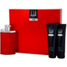 Dunhill Desire Red lote de regalo IV. eau de toilette 100 ml + bálsamo after shave 90 ml + gel de ducha 90 ml