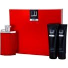 Dunhill Desire Red zestaw upominkowy IV. woda toaletowa 100 ml + balsam po goleniu 90 ml + żel pod prysznic 90 ml