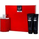 Dunhill Desire Red dárková sada IV. toaletní voda 100 ml + balzám po holení 90 ml + sprchový gel 90 ml