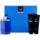 Dunhill Desire Blue zestaw upominkowy III. woda toaletowa 100 ml + żel pod prysznic 90 ml + mleczko do ciała 90 ml