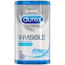 Durex Invisible Natural Feel Condoms (Extra Thin, Extra Sensitive) 10 pc