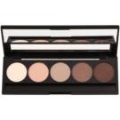 E style Perfect Harmony Palette paleta de sombras  com espelho pequeno tom 01 Natural 9,6 g