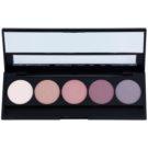 E style Perfect Harmony Palette paleta de sombras de ojos con un espejo pequeño tono 07 Purple Rain 9,6 g