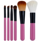 E style Professional Brush набір щіточок для макіяжу 6 кс