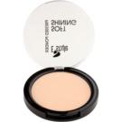E style Soft Shining rozjasňující kompaktní pudr pro ideální odstín pleti odstín 02 Beige 12 g